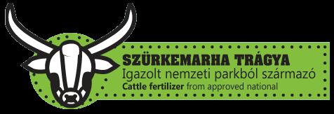 Szürkemarha trágya nemzeti parkból kép