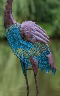 HERON díszkerti figura felülete kép