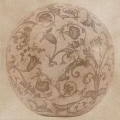 Antikolt kerámia gömb kép